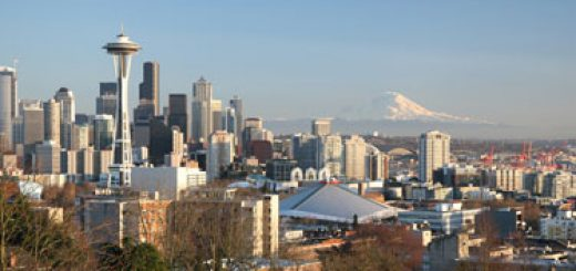 Seattle photo from University of Washington web site at http://www.washington.edu/about/