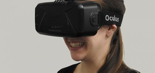 woman, VR, headset, virtual reality, oculus
